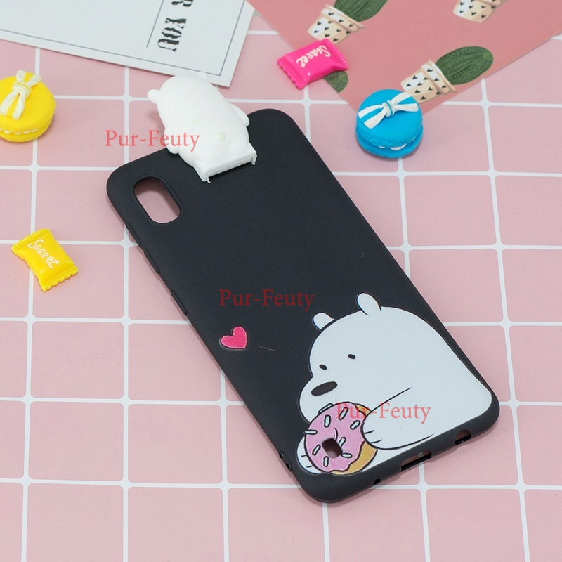 3D Toys Flip Stand Cartoon Case For Samsung A10 SM-A105F A10S M10 Unicorn Soft Cover For Samsung Galaxy A 10 <font><b>A105FN</b></font> phone Case image
