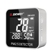 Детектор качества воздуха Настольный PM2.5 детектор пыли детектор частиц