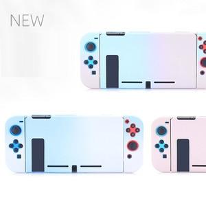 Image 2 - Funda desmontable de policarbonato para Nintendos Nintendo Switch NS NX, cubierta de espalda protectora dura, ultrafina