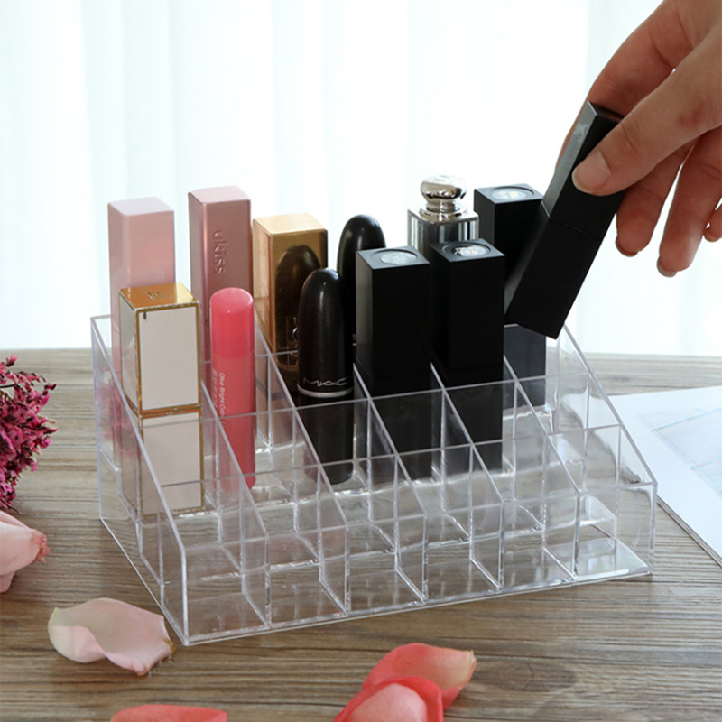 Doge Acrylic Transparent Cosmetic Storage Box Lipstick Lipstick Nail Polish Cosmetics Cosmetic Box Jewelry Box Holder
