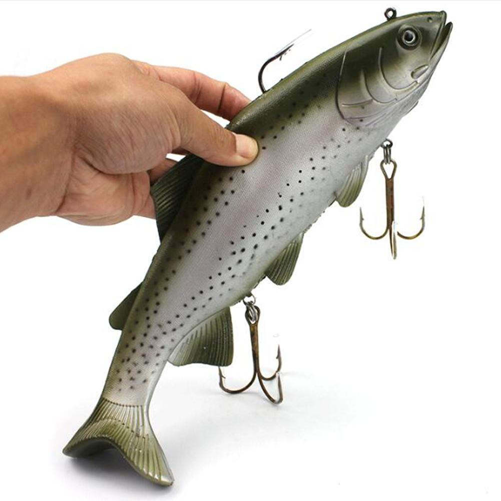 HobbyLane Outdoor Fishing Simulation Deep Sea Fish 30 Cm 170 G Large Boat Bait Fake Bait With Big Hook Adult Outdoor Accessories