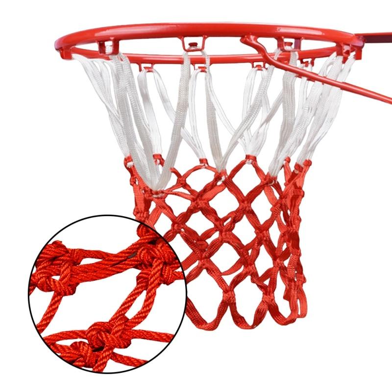 Высокое качество Прочный Стандартный Размер нейлоновой нитью спортивные баскетбольное кольцо сетка обод щита мяч туфли-лодочки