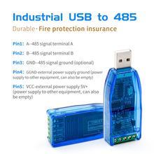 Convertidor Industrial USB A RS485, protección mejorada, convertidor RS485, compatibilidad V2.0, módulo de placa de conector estándar RS 485 A