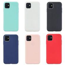 Newest Candy Color Scrub Anti-knock Non-slip Cases For iPhone 11 / Pro pro MAX Simple Anti-scratch Lovely Protective Covers Case