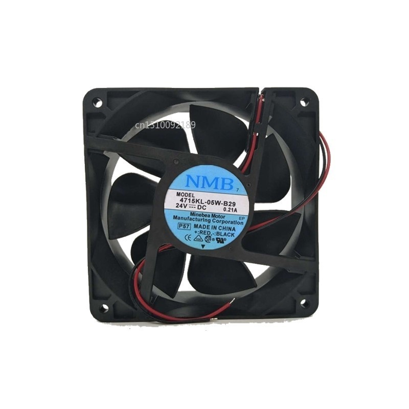 For NMB 12038 24V 0.21A 4715KL-05W-B29 12CM Inverter Cooling Fan Free Shipping