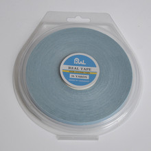 0.8cm*36yards Real Hair Extension Tape Hair System Tape Wig Double Adhesive Tape For Toupee/Lace Wig