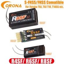 Corona 2.4G R4SF R6SF R8SF S FHSS/FHSS odbiornik kompatybilny FUTABA S FHSS T6 14SG