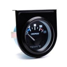 2  52mm Black Car Auto Digital LED Water Temp Temperature Gauge Kit 40 120  New