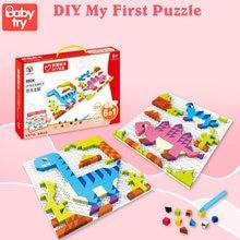 3D Montage Spel En Puzzels Speelgoed Voor Kinderen Diy Hobby Gift Juguetes Builidng Blokken Bakstenen Kinderen Montessori Speelgoed Met Base