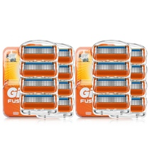 20/16/12Pcs Original Razor for safely shaving holder plus Replacement razor blades for Gillette Fusion 5