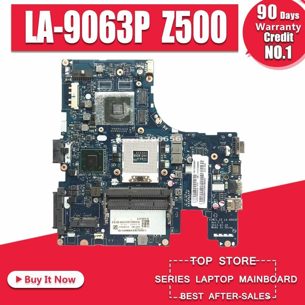 LA-9063P For Lenovo Z400 Laptop Motherboard VIWZ1-Z2 LA-9063P Z400 With GT740M Original Motherboard 100% Test Work