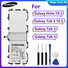 Batterie dorigine Pour Samsung Note 10.1 GT P5110 P5100 P5113 N8000 GT N8020 P7500 SM P601 Tab3 P5200 T4500E Tab4 SM T530 SM T805