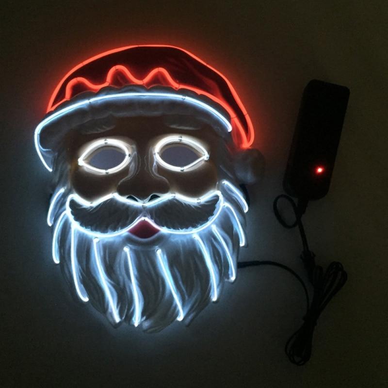 2019Halloween LED Mask Purge Masks Election Mascara Costume DJ Party Light Up Masks|Party Masks| |  - title=