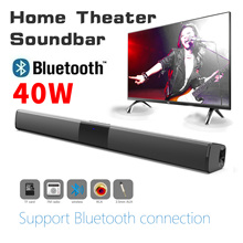 40W 20W TV ses çubuğu kablolu ve kablosuz Bluetooth ev Surround SoundBar PC sineması TV sineması TV hoparlör 2021