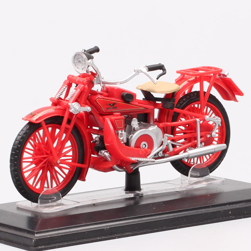 1:22 Scale Classics Old Tiny Starline Moto Guzzi GT Norge Motorcycle Model Replicas Diecast Vehicle Bike Toys 1930 Gifts Of Kids