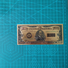 USA 10000 Dollar Gold Banknote Currency Bill Paper Money Coin Medal 24k United States OF America jerusalem israel united states embassy trump challenge coin dedicated may 14 2018