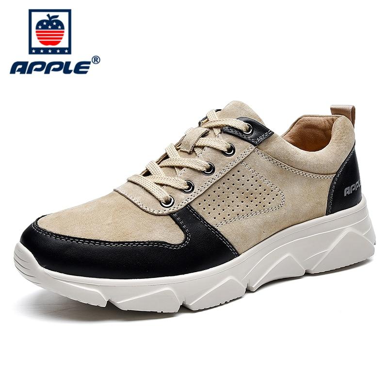 Купить мужские кроссовки из натуральной кожи на осень/зиму