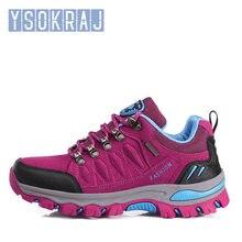 Homem & mulher caminhadas sapatos ao ar livre tênis mulher sapatos de viagem antiderrapante respirável à prova dwaterproof água esportes sapatos de trabalho masculino trekking