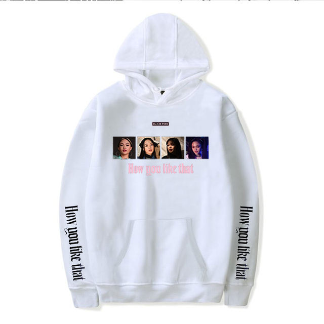BLACKPINK HOW YOU LIKE THAT THEMED HOODIE