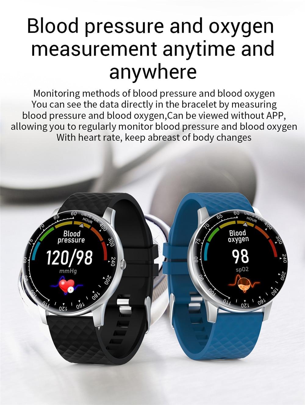freqüência cardíaca esportes smartwatch para android ios telefone