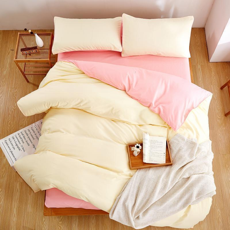 Plain Color Linen Bedding Sets