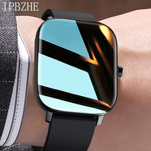 Ipbzhe relógio inteligente feminino 2021 android reloj inteligente esportes smartwatch bluetooth chamada relógio inteligente para ios ios iphone huawei