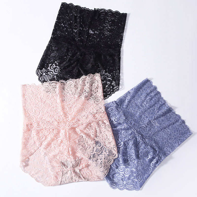 Sexy Floral Lace Panties Underwear for Women High Waist Pantys Lingerie Female Seamless Panties Briefs 2020 Underpants Hot Sale