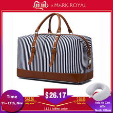 MARKROYAL Duffel-Bag Overnight-Bag Canvas Weekender Carry-On Over-Sized Fashion Large-Capacity