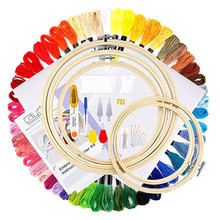New Style Bracelets Weaving Handmade DIY Accessory Cable Winder Embroidered Set Embroidery Thread DMC Cross Stitch Line