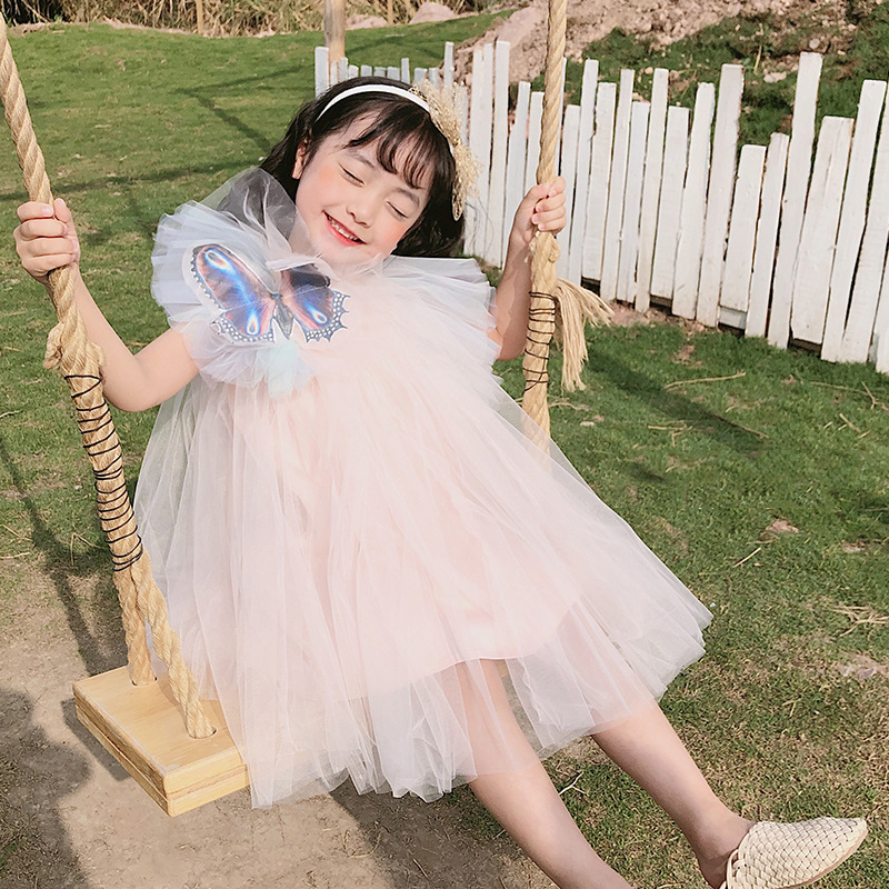ZMHYAOKE 2020 NEW Summer Baby Girls Casual Dresses Fashion Beach Christmas PARTY Dress Girl Thanksgiving Girls Princess Dress