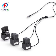 Zhongdun ZDKCT16M-3 3 in 1 with RJ12 Low Voltage Rohs 60A Ac Ct Meters Clamp Sensors Current Transformer