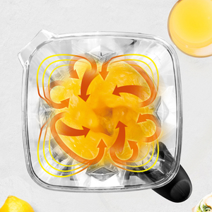 Image 5 - BPA Free 3HP Heavy Duty Blender do zastosowań komercyjnych mikser sokowirówka High Power robot kuchenny Ice Smoothie Bar owoce Blender elektryczny