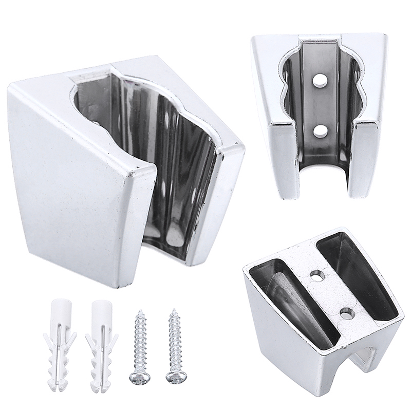 ABS Chrome Shower Head Holder Rack Bracket Wall Mounted Showerhead Holder For Bathroom Accessories