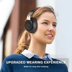 Image 5 - Oneodio سماعة رأس مزودة بتقنية البلوتوث فوق الأذن سلكية سماعة رأس بمايكروفون بلوتوث 5.0 سماعة ستيريو لموسيقى الهاتف
