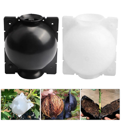 5pcs/lot Plant Rooting Ball Grafting Rooting Growing Box Breeding Case For Garden Plant High-pressure Propagation Box Sapling