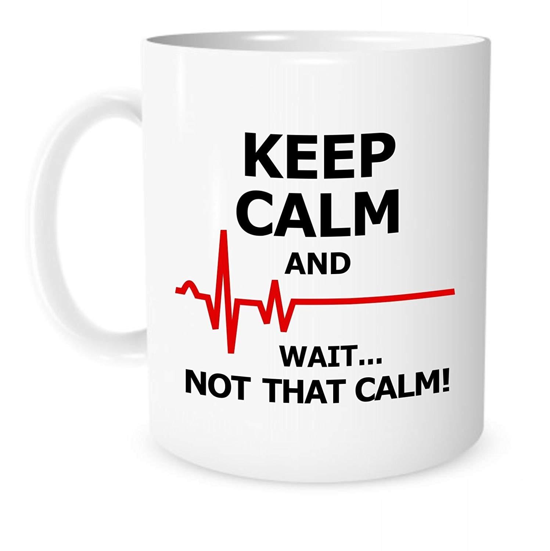 Italian Cannot Keep Calm Funny Novelty Mug Coffee Mug Tea Cup Ceramic Mug 11oz