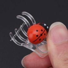Orchid-Clips Ladybug-Plant-Clips Tomato Trellis Garden-Support 30pcs Durable Wholesale