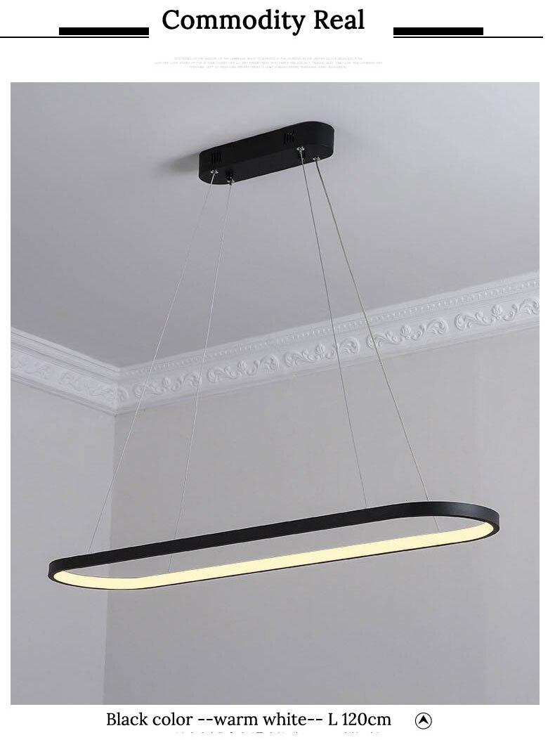 lampy AC85-260V Prostokąt wiszące 10