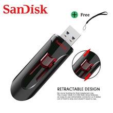 SanDisk CZ600 Pendrive 128GB 64GB 32GB 16 GB 32GB 64GB 256GB USB Flash sürücü 32 64 128 16 GB kalem sürücü 3.0 USB sopa Disk bellek telefonu
