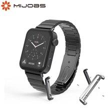 ストラップxiaomi miウォッチリストバンド金属ステンレス鋼ブレスレットコレアミ腕時計ストラップコネクタミ腕時計アクセサリー