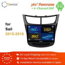 "Ownice K1 K2 K3 k5 k6 9 ""2din Android 9,0 reproductor de DVD del coche para Chevrolet Sail 2015, 2016, 2017, 2018 2GB de RAM + 32GB ROM GPS Radio(China)"