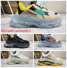 2019 NEW Balenciaca TRIPLE S TRAINERS RARE EDITION FOR MEN/WOMEN DAD SHOES SNEAKERS H100(China)