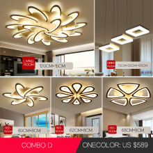 Led Chandelier Dining-Room Modern Light Bedroom-Lamp Simple-Decoration for Creative