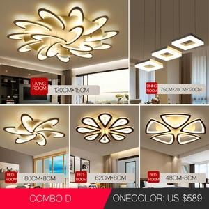 Image 1 - Led Chandelier for living room dining room study room bedroom lamp creative light modern simple decoration