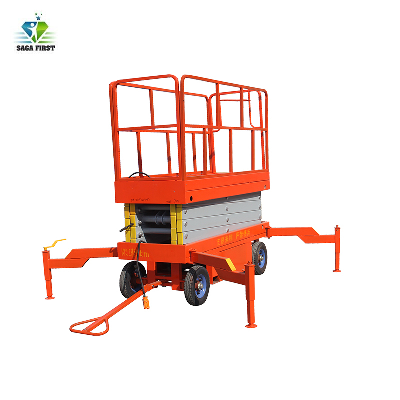 Semi Electric Scissor Lift With Platform Size Up To 2816*1600mm