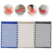 Acupuncture Massage Cushion Mat Relieve Back Body Muscle Pain Spike Mat Acupuncture Massage Yoga Mat