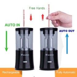 Автоматическая электрическая точилка для карандашей сверхмощная перезаряжаемая для класса авто Стоп быстрая заточка в 3s школьные офисные ...