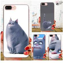 Soft TPU Screen Protector For Apple iPhone 4 4S 5 5C 5S SE 6 6S 7 8 11 Plus Pro X XS Max XR Big Fat Cat(China)