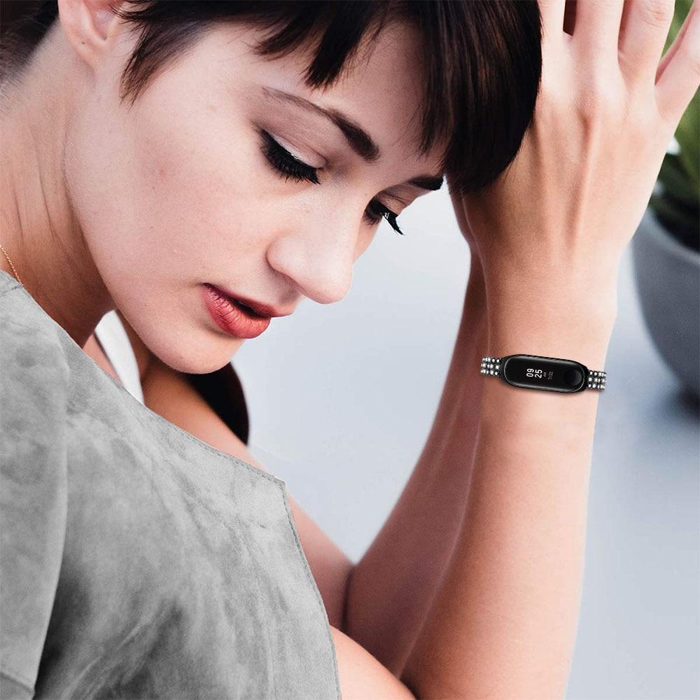 mi banda 3 4 pulseira de relógio