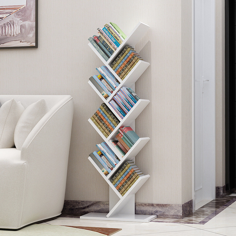 Simple Bookcase Assembly Living Room Storage Shelf Simplicity Luo Di Jia Storage Shelf Cool Bedroom Children Shelf Economical